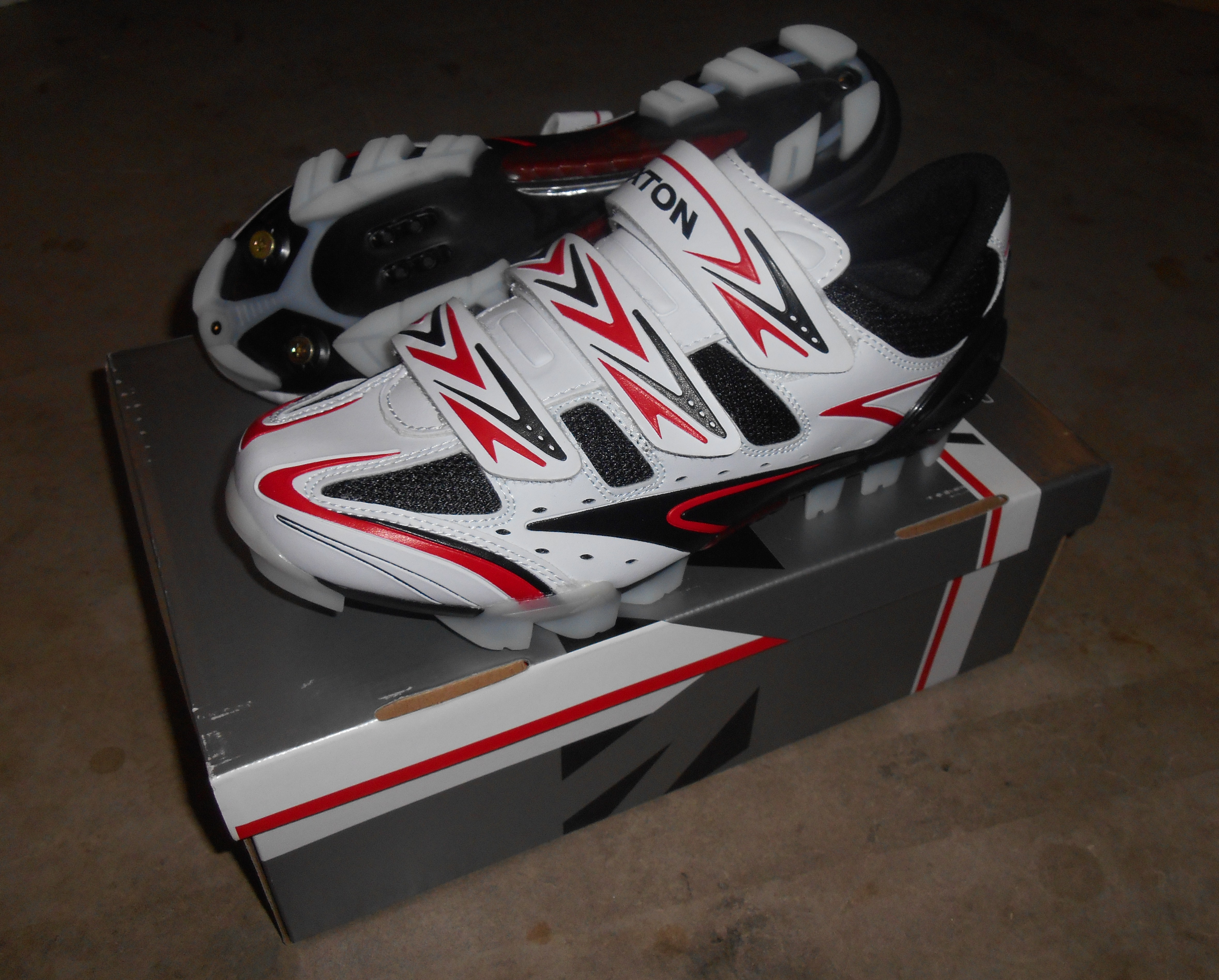 Rexton AB-222 SPD MTB Cycling Shoes size EU 45 / UK 10.5