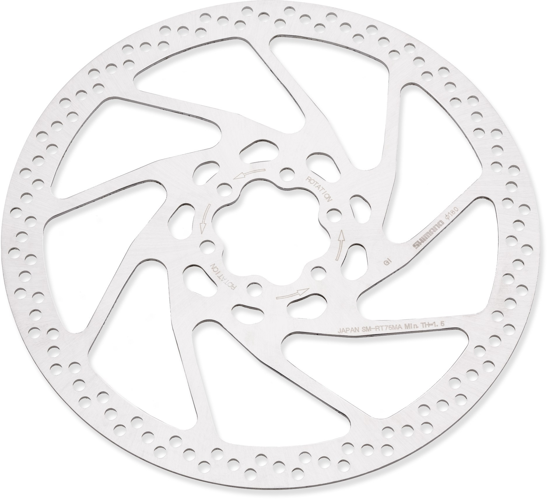Shimano SM-RT75 Deore XT Disc Brake Rotor 160mm 6 Bolt Fitting