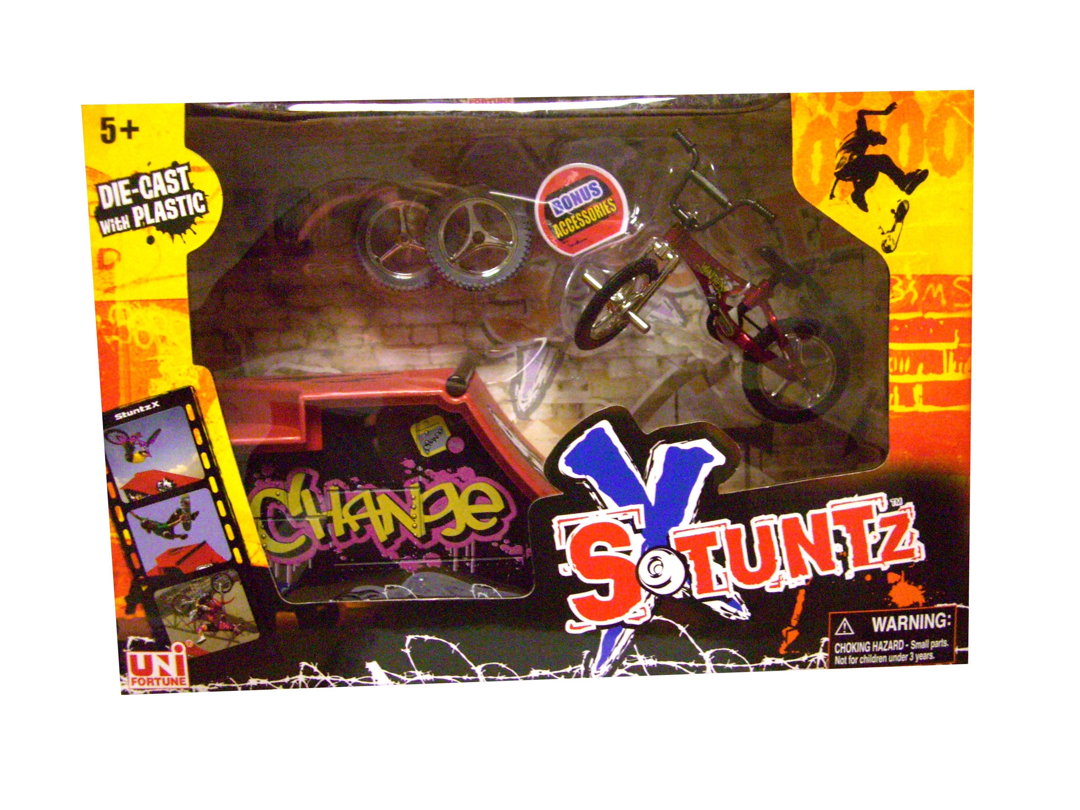Stuntz-X-Toy-Skate-Bike-Park-Mini-Stunt-Bike-Ramp-C-Set-Asst-Colours