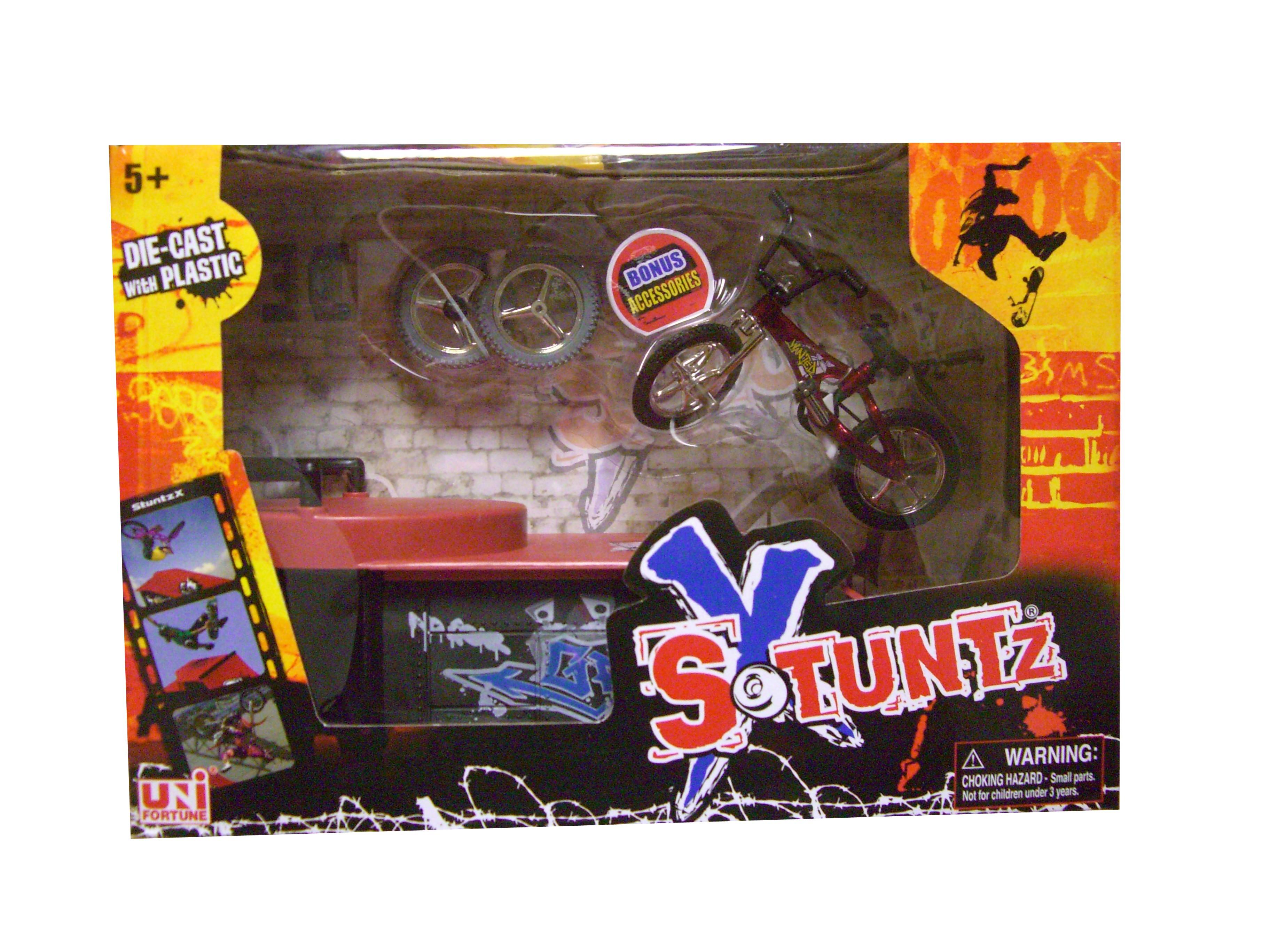 Stuntz-X-Toy-Skate-Bike-Park-Mini-Stunt-Bike-Set-Ramp-E-Asst-Colours