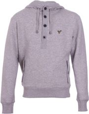 New-Mens-Voi-Jeans-Hoodie-Logan-Grey-FREE-P-P