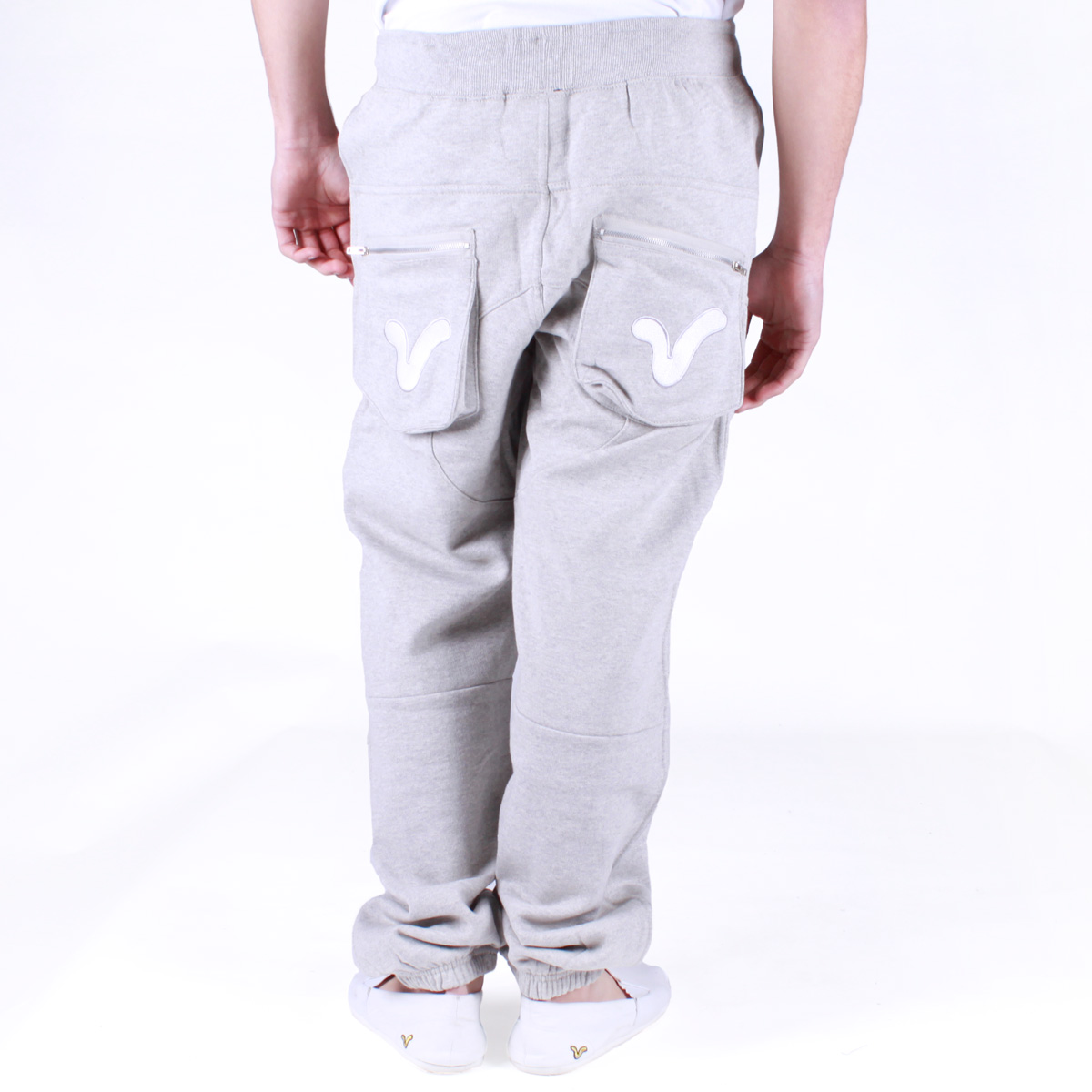 New-Mens-Voi-Jeans-Designer-VI-Diver-Joggers-in-Charcoal-or-Grey-Free-P-P-WD