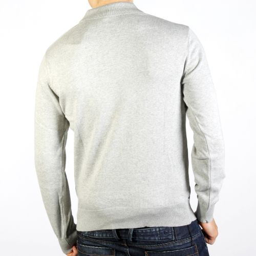 New-Mens-Voi-knitted-Jumper-Bremen-in-Grey-Free-P-P