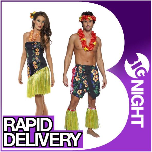 Hawaii Kleid Kostüm Damen Blumen Design Verkleidung | eBay